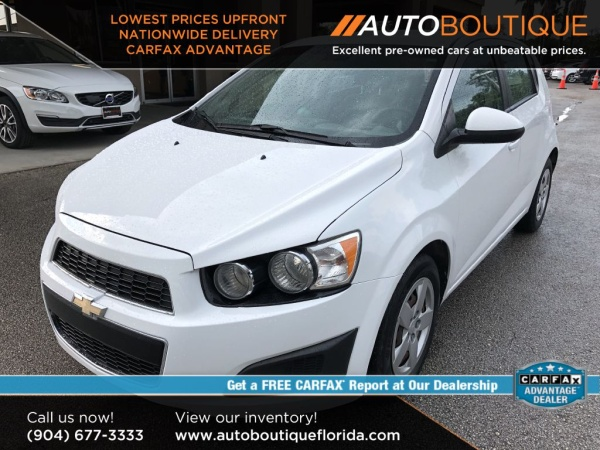 2015 Chevrolet Sonic LS Hatch AT For Sale in Jacksonville