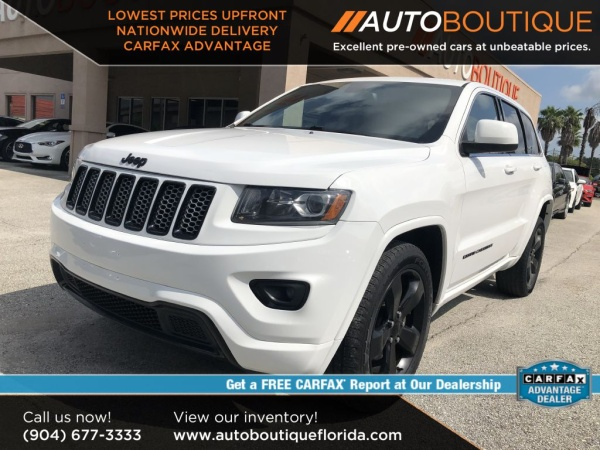 Jeep Dealership Jacksonville >> 2015 Jeep Grand Cherokee Altitude 4wd For Sale In