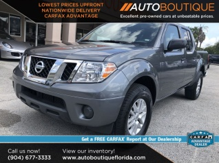 Used Trucks Jacksonville Fl >> Used Nissan Frontiers For Sale In Jacksonville Fl Truecar