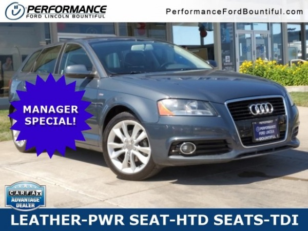 Performance Ford Bountiful >> 2012 Audi A3 Premium Hatchback 2 0 Tdi Fronttrak S Tronic