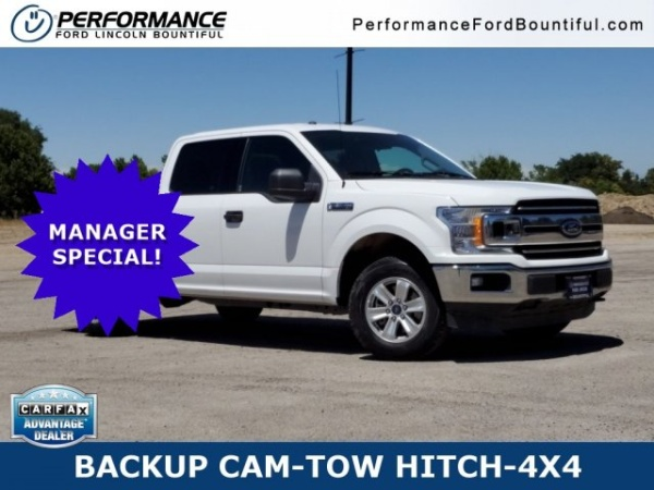Performance Ford Bountiful >> 2018 Ford F 150 Xlt Supercrew 5 5 Box 4wd For Sale In