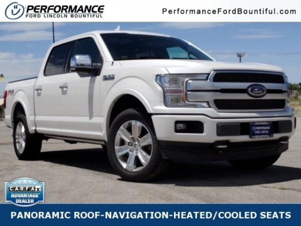 Performance Ford Bountiful >> 2019 Ford F 150 Platinum Supercrew 5 5 Box 4wd For Sale In