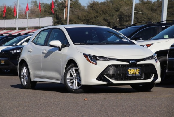 2020 Toyota Corolla Hatchback in Folsom, CA