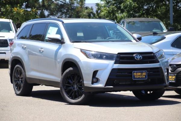 2019 Toyota Highlander in Folsom, CA