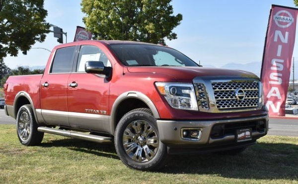2019 Nissan Titan in City of Industry, CA