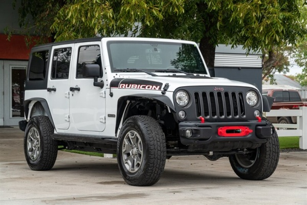 2017 Jeep Wrangler Rubicon Recon