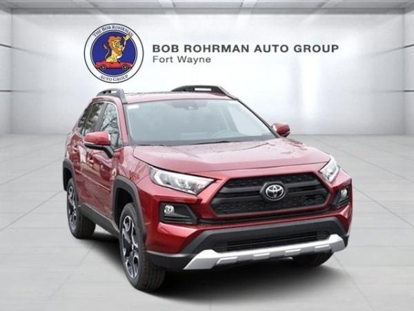 Fort Wayne Toyota >> 2019 Toyota Rav4 Adventure Awd For Sale In Fort Wayne In