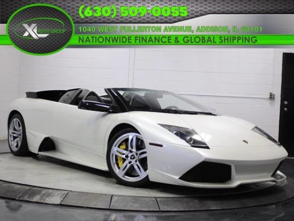 2007 Lamborghini Murcielago Lp640 Roadster For Sale In Addison Il